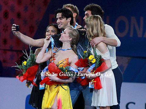 2014 Grand Prix Final Ice Dancing Medallist