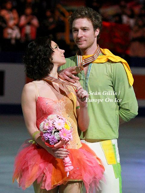 Fabian Bourzat & Nathalie Pechalat
