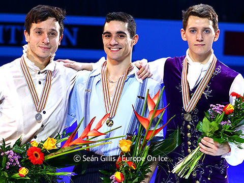 2016 Europeans Men Medallists