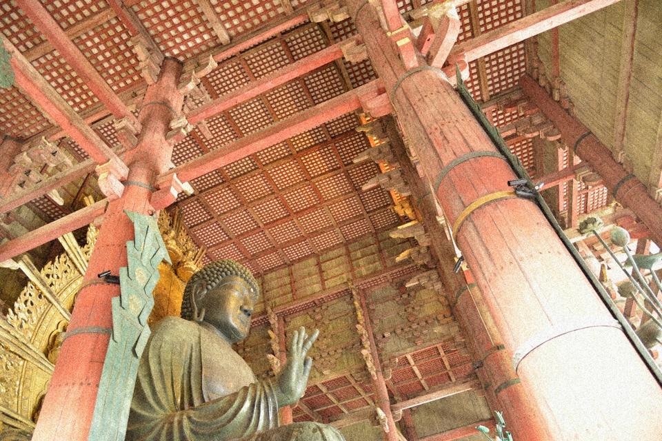 東大寺の大仏さんの大きさ