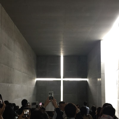 光の教会 安藤忠雄展