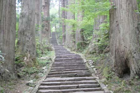 一の坂の階段