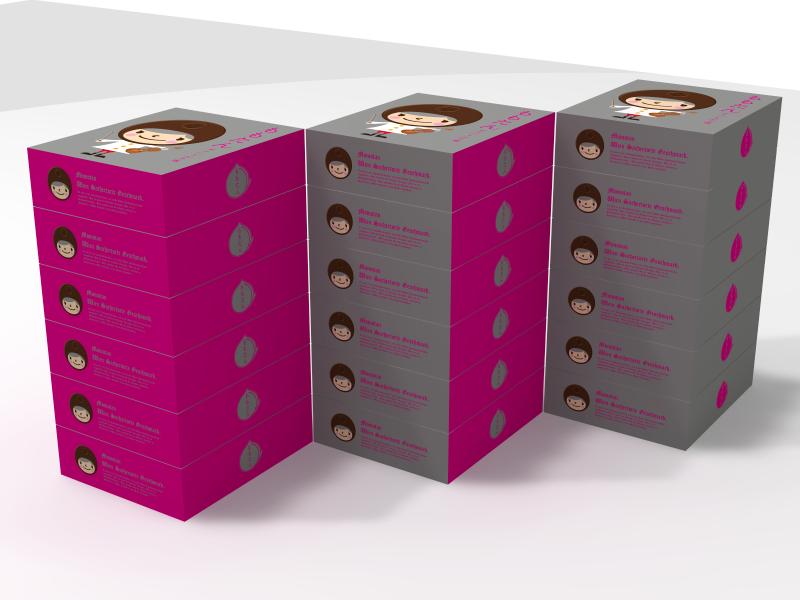 「ももたん」(ザッハトルテ味)パッケージデザイン