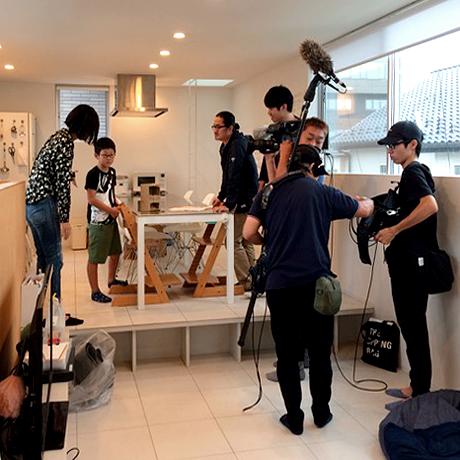 テレビ撮影 住宅
