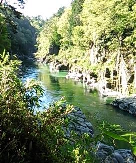 20130502 朝の天竜川