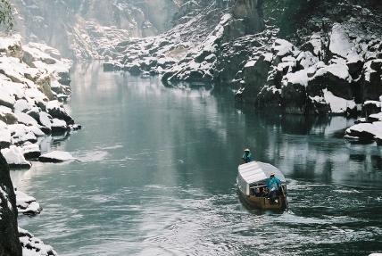 冬の天竜峡