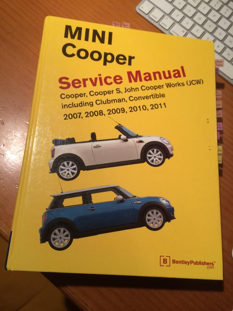 mini cooper service manual bentley publishers