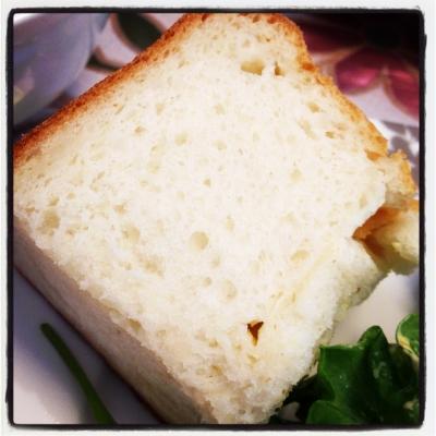 友達が作ったパン