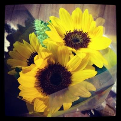 けろりん先生からお花貰った!