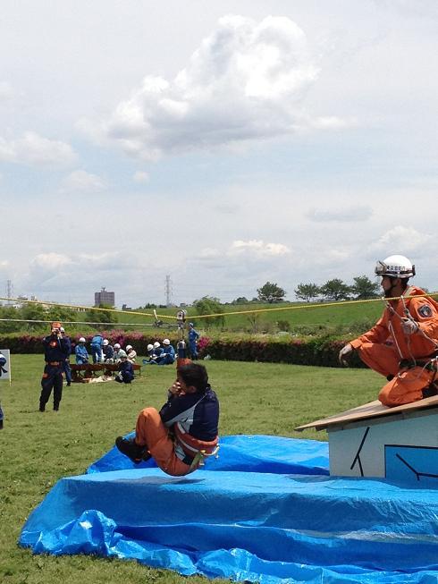 葛飾区水防訓練5