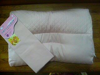 肩楽寝枕と専用枕カバー