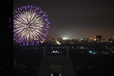 Fireworks in CP