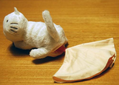 猫クリーナー布