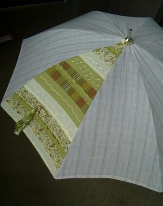 綿麻の日傘
