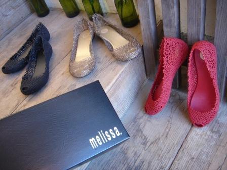 melissa  ◆ CORAL  ブラック・ワイン・クリアーゴールド ¥9240