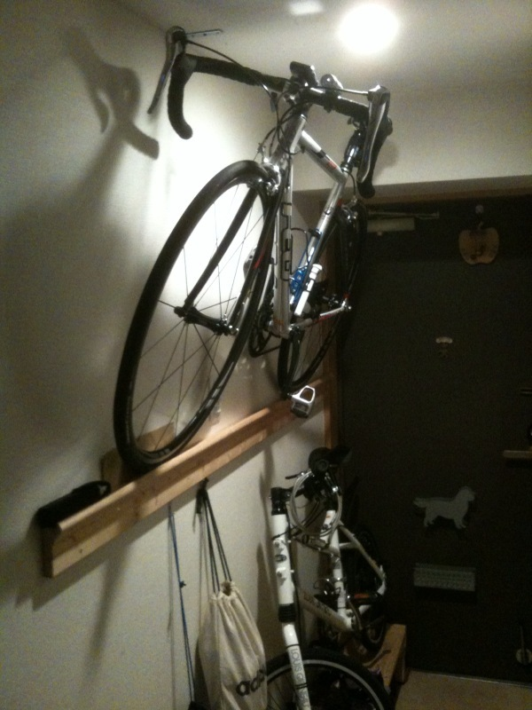 自転車の 小さい自転車 大人 : 自転車の収納 | あおとなびるで ...