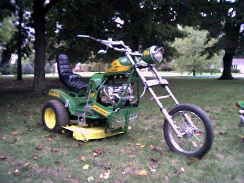 草刈りバイク