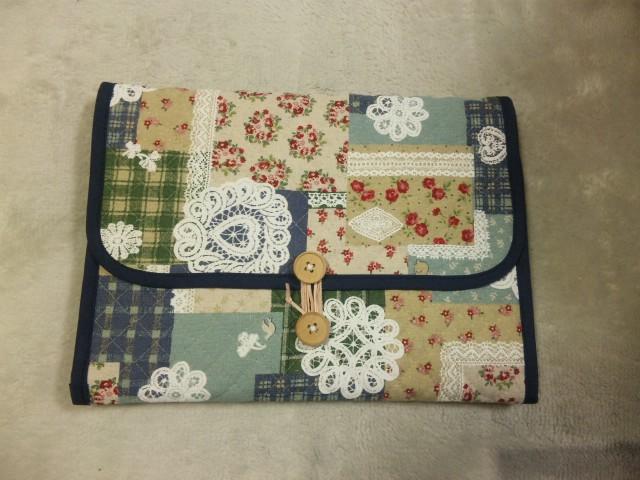 手作りiPadケース