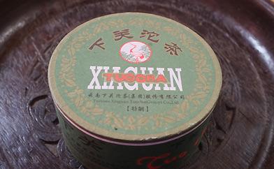 緑盆プーアル茶