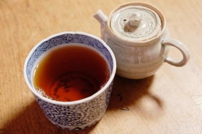 境界プーアル茶