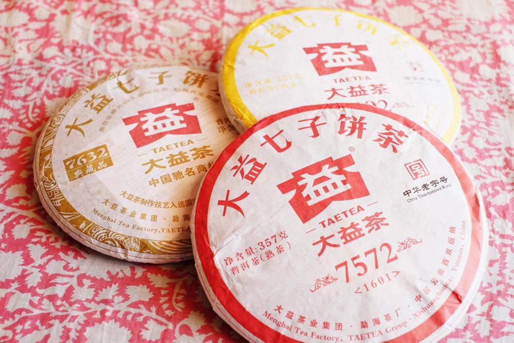 大益熟茶セットプーアル茶