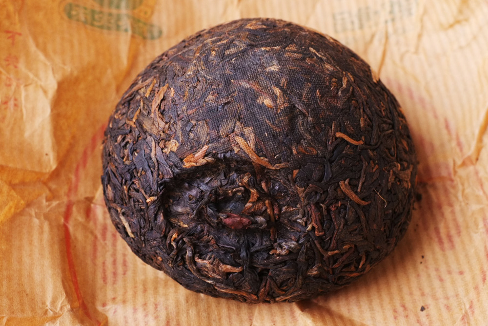 プーアル茶の形、沱茶