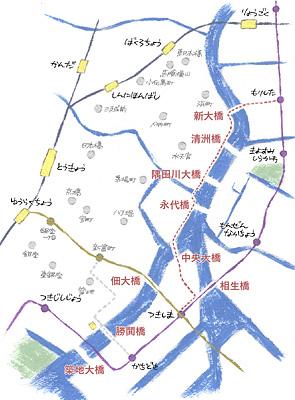 隅田川マップ