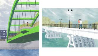 水辺の橋01
