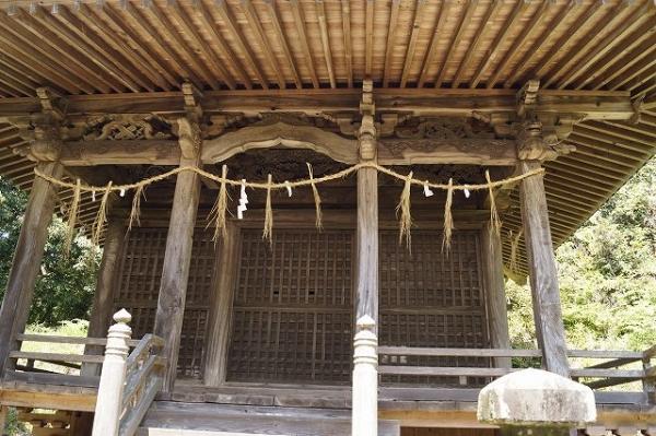 七国神社の3つの扉