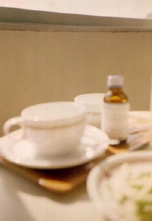 アリストンホテルのカップとビーノ アグファ