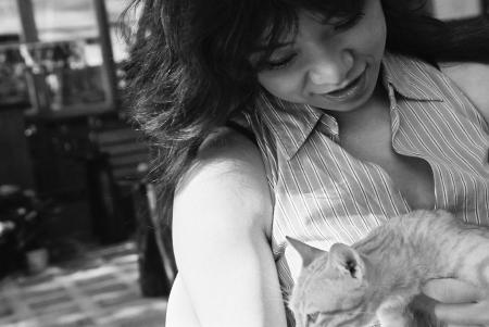 ネコと弥栄子