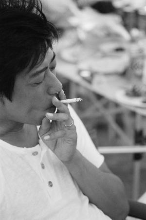 BBQとタバコ