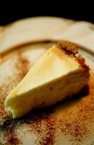 ソロのレアチーズケーキ