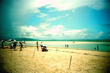 コンドイビーチの白い砂