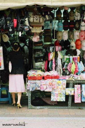 雑多な店もソウル