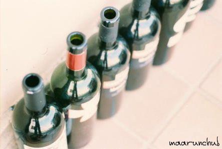 店先のワイン