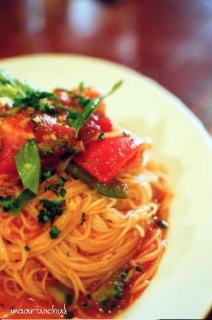 フレッシュトマトのカッペリーニ