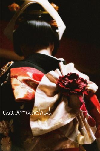 花嫁の見事な帯