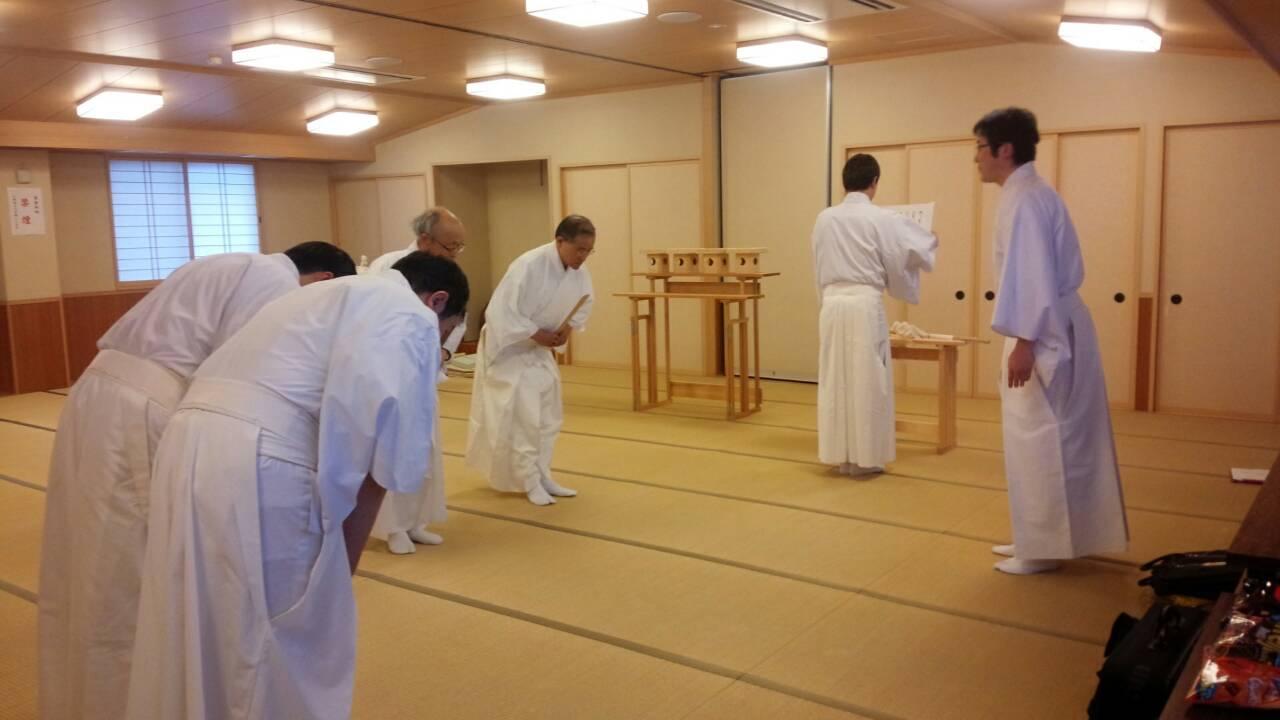 祭式研修会   新潟の神社