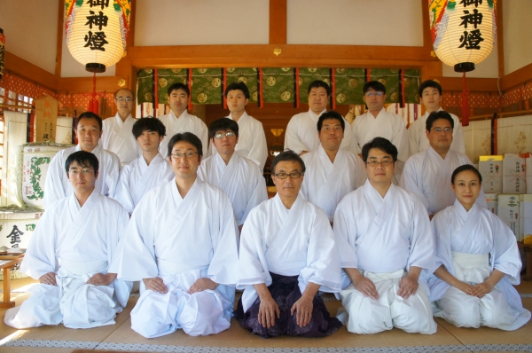 祭式研修会並びに群馬県神道青年...