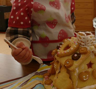 手作りお菓子の家