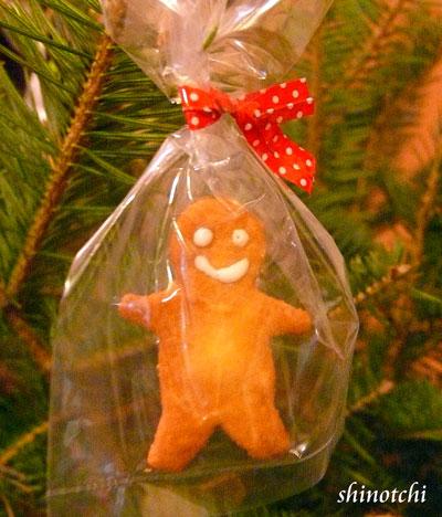 クリスマスツリーオーナメントジンジャーマン