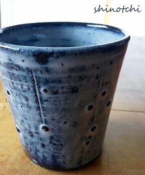 陶器市で見つけたカップ