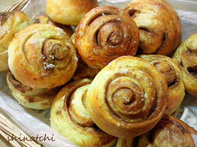 手作りパン シナモン かもめ食堂