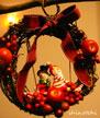 簡単クリスマスリース 作り方