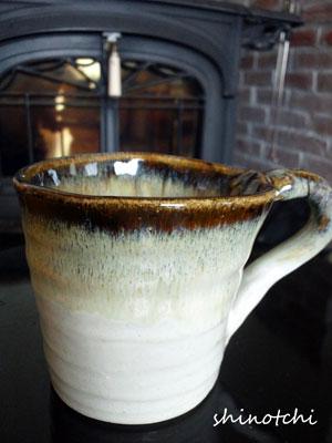 陶芸手作りカップ