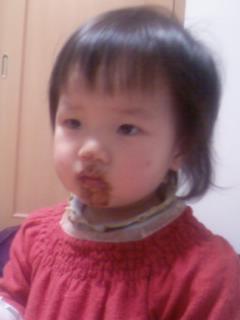 チョコだらけ