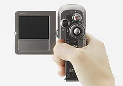 ハードディスクビデオカメラ