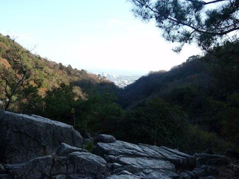 芦屋ロックガーデンからの眺め