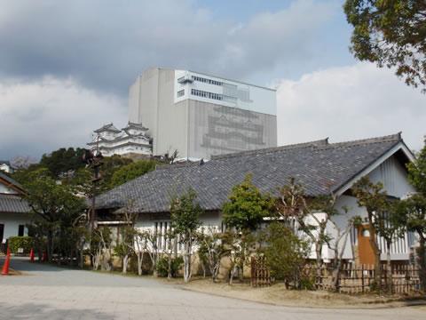 姫路城改装中
